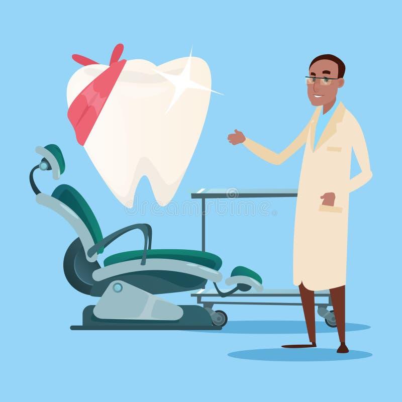 Dentista interior Workplace Hospital Medicine de la clínica dental libre illustration