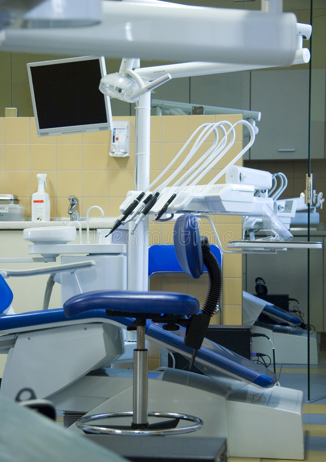 Dentista surgary immagine stock