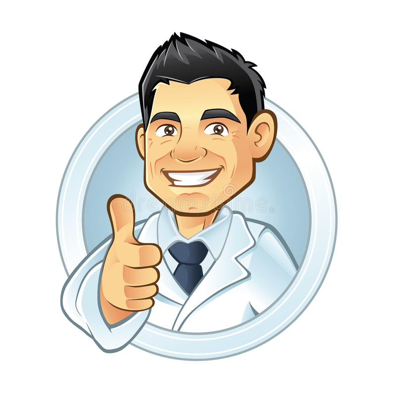 Dentiste illustration stock