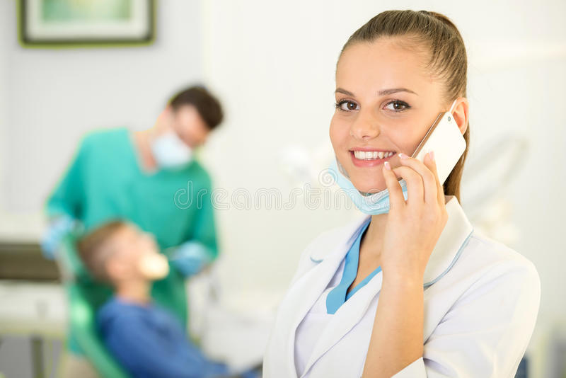 dentiste image stock
