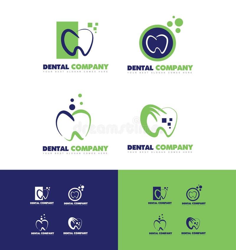 Dentiste dentaire Logo illustration de vecteur