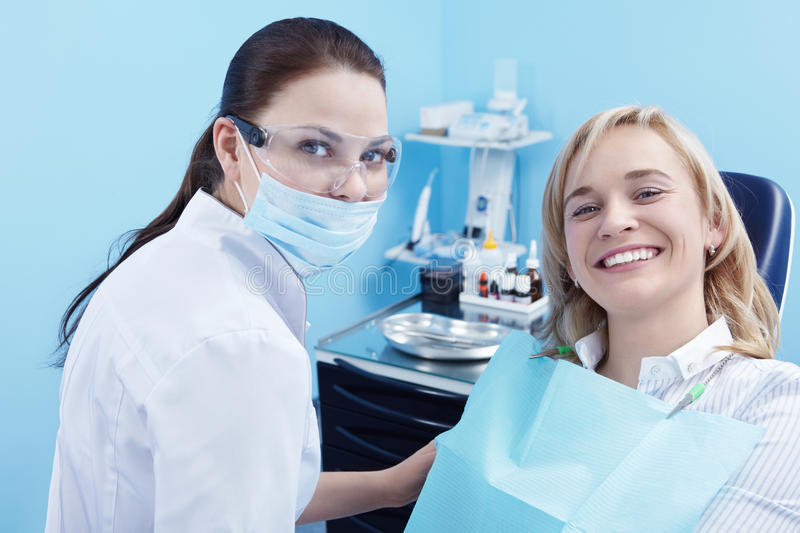 Download In dentistry stock photo. Image of blond, smiling, lifestyle - 17730738