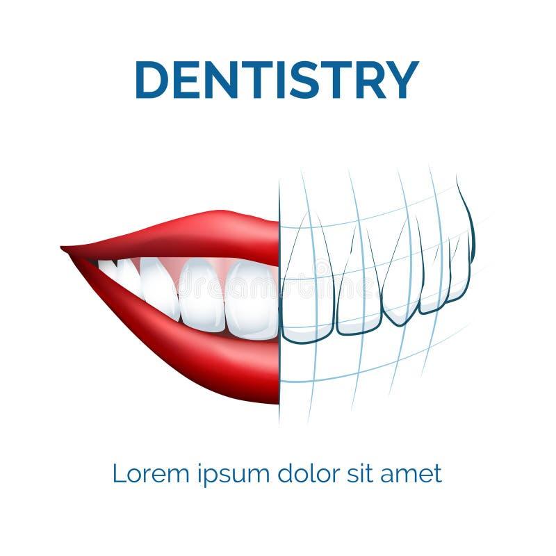 dentistry ilustração royalty free