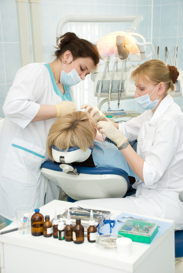 Download Dentistry stock photo. Image of illness, mouth, assistant - 5001594