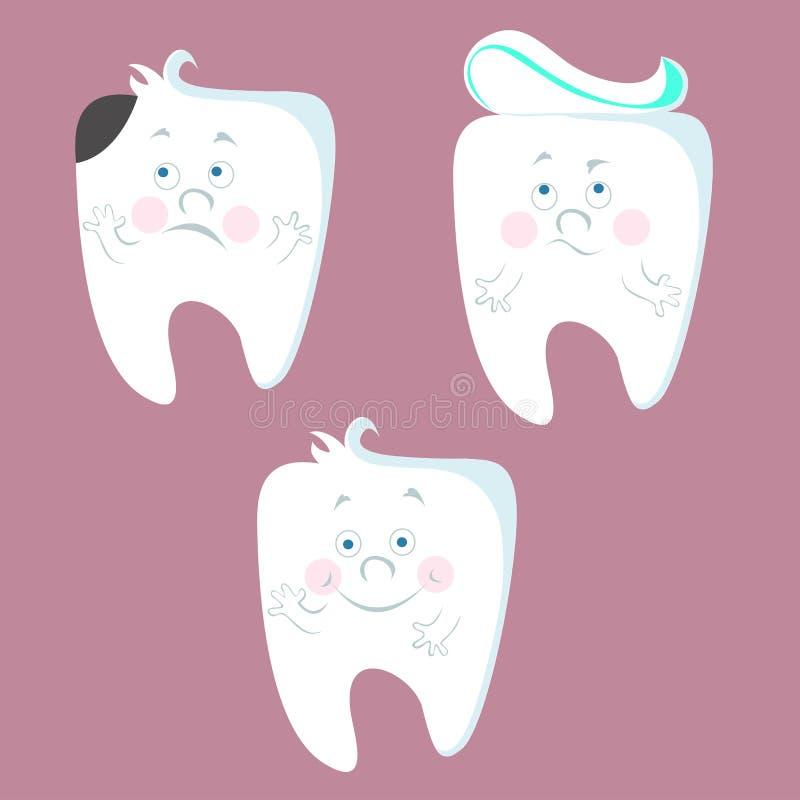 dentistry ilustração stock