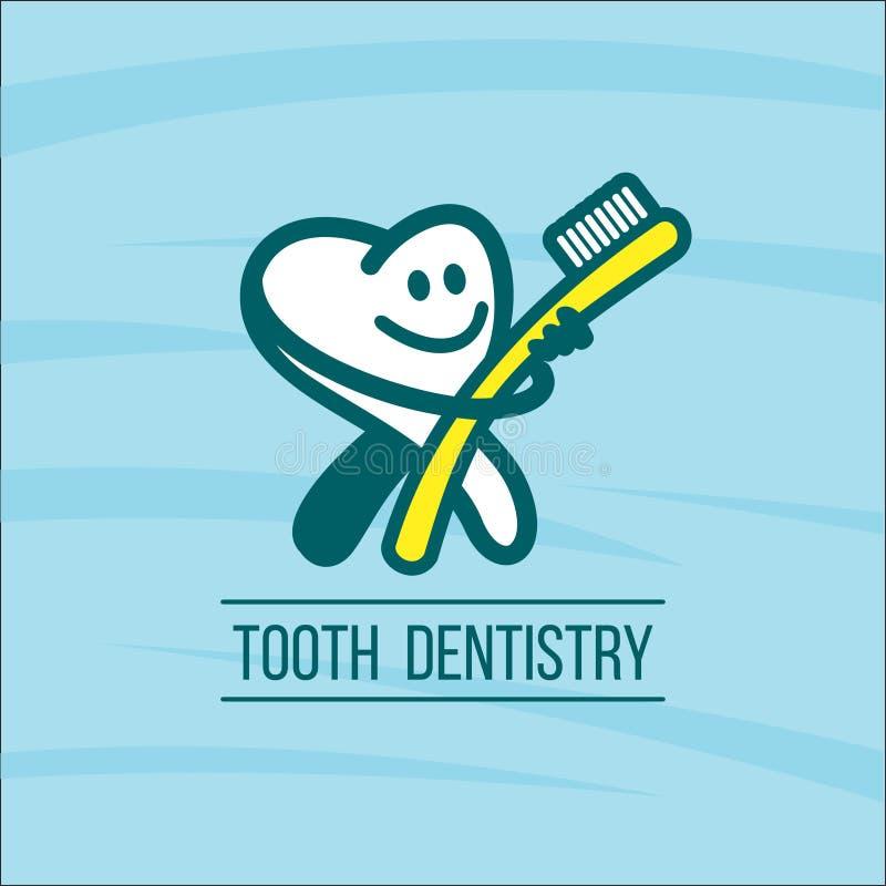 dentistry Cuidados médicos Prevenção de doenças dentais Dente ilustração stock