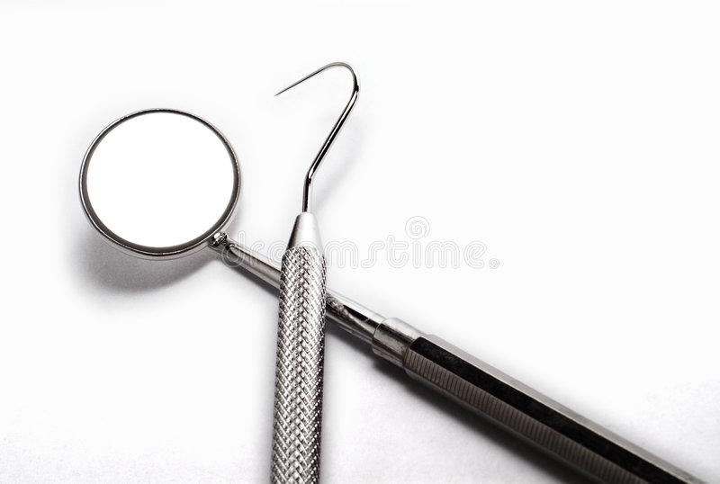 Dentists tools stock images