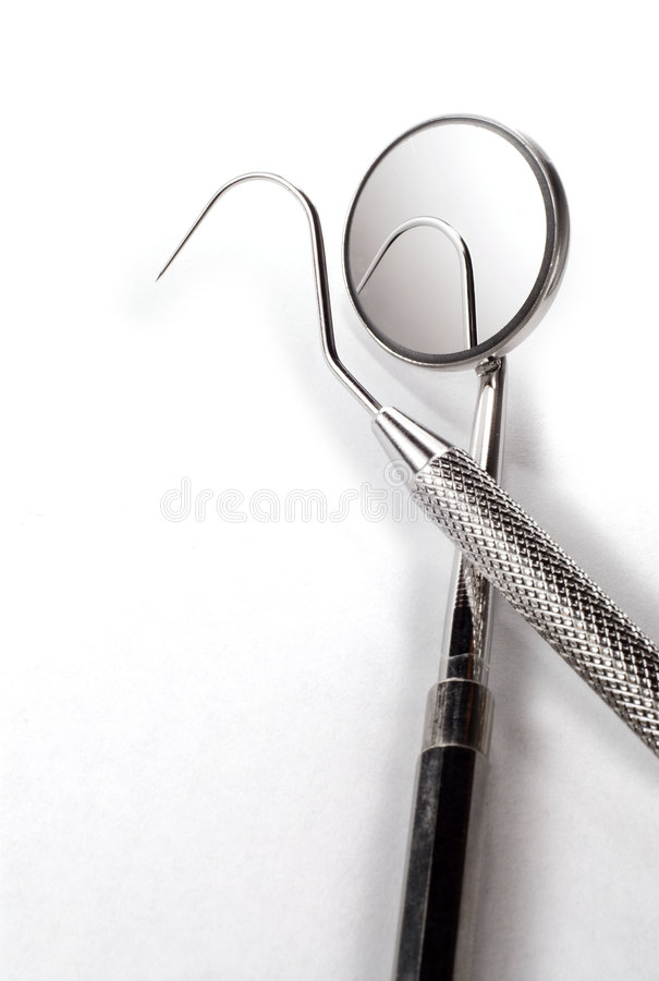 Dentists tools stock photos