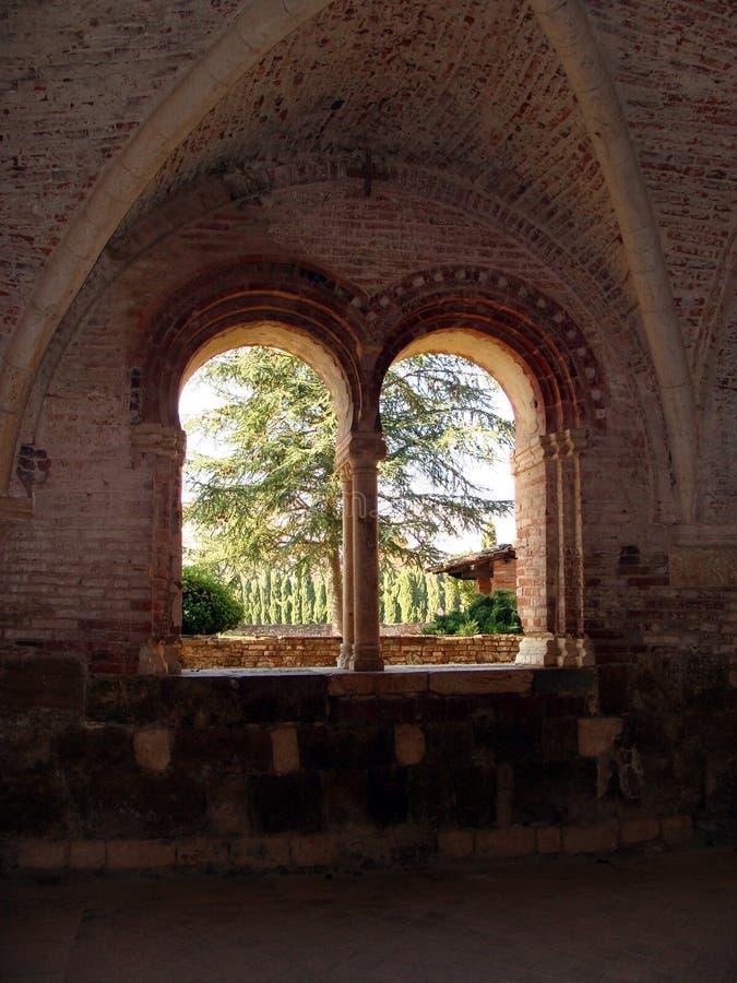 Dentro da abadia imagem de stock royalty free