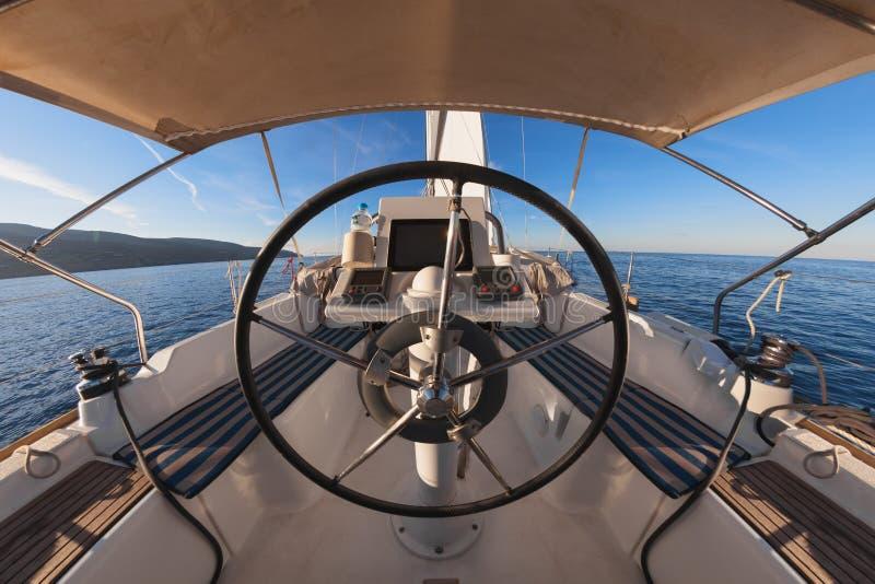 Dentro da cabina do piloto foto de stock royalty free