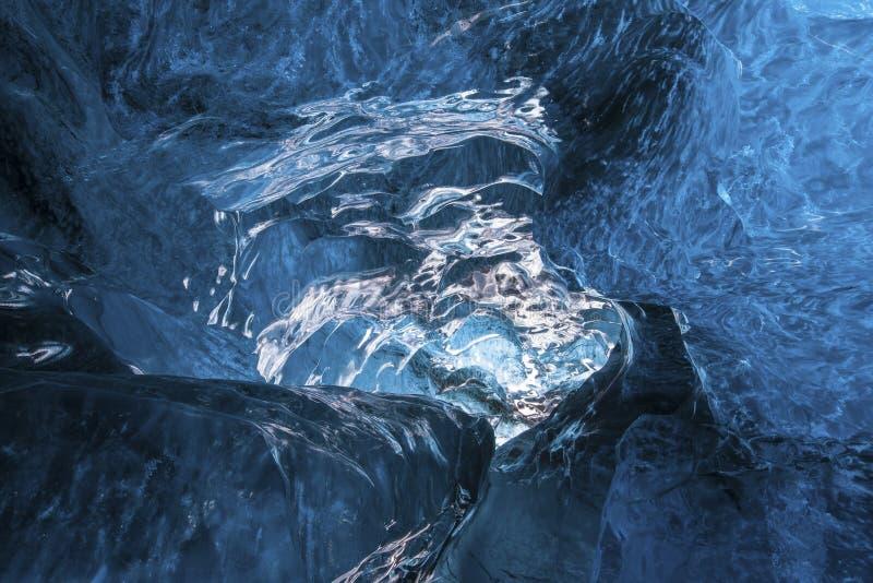 Dentro da geleira foto de stock royalty free