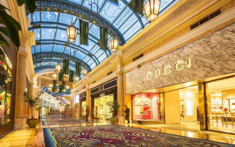 Dentro de Bellagio, la tira, Las Vegas Boulevard, Las Vegas, Nevada, los Estados Unidos de América, Norteamérica fotografía de archivo libre de regalías