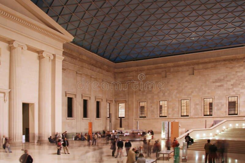 Museu britânico em Londres imagens de stock
