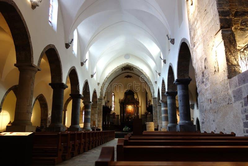 Dentro de la capilla en la abadía de St Mauricio fotografía de archivo libre de regalías