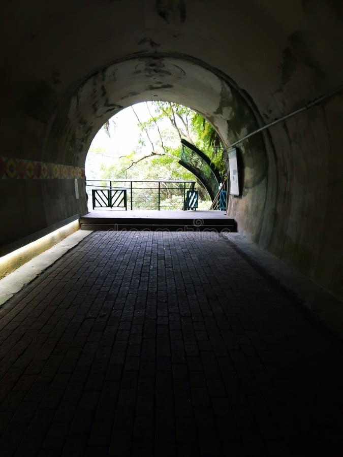 Dentro de la cueva en la región Taiwán de Taroko fotos de archivo