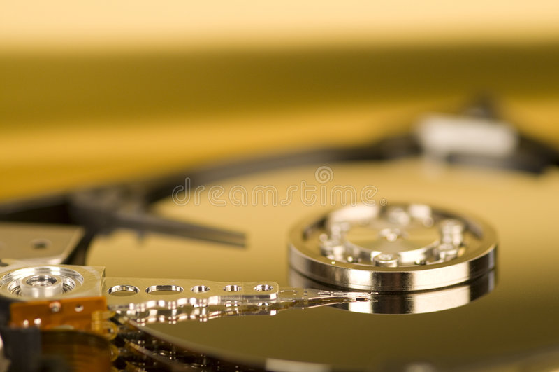 Dentro de mecanismo impulsor duro imagen de archivo libre de regalías