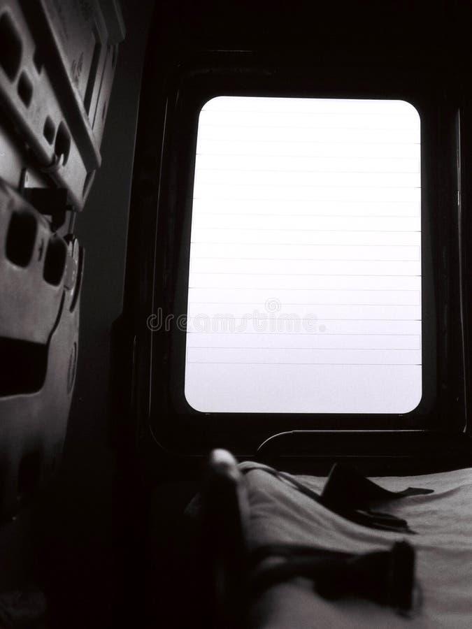 Dentro de uma ambulância imagem de stock royalty free