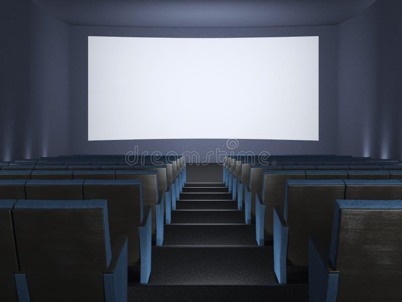 Dentro del cine. foto de archivo