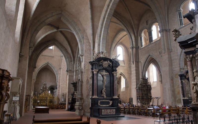 Dentro della cattedrale di Treviri immagini stock