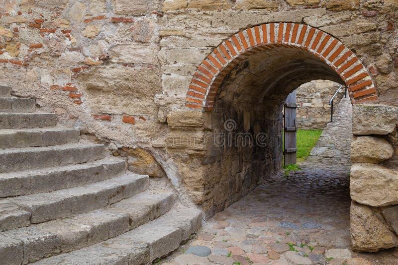 Dentro della fortezza di Baba Vida fotografie stock libere da diritti
