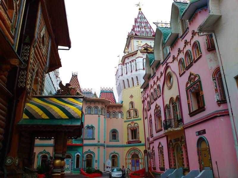 Dentro do Kremlin de Izmailovsky fotografia de stock royalty free