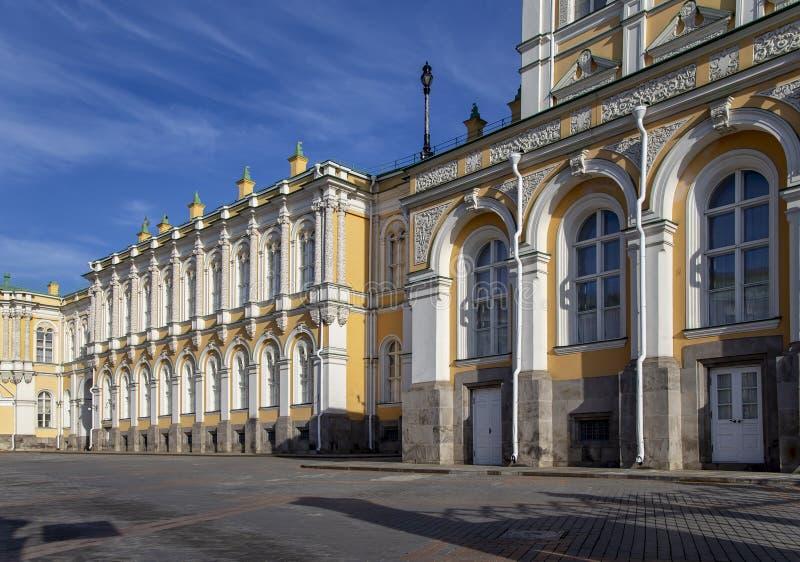 Dentro do Kremlin de Moscou, dia de R?ssia fotos de stock
