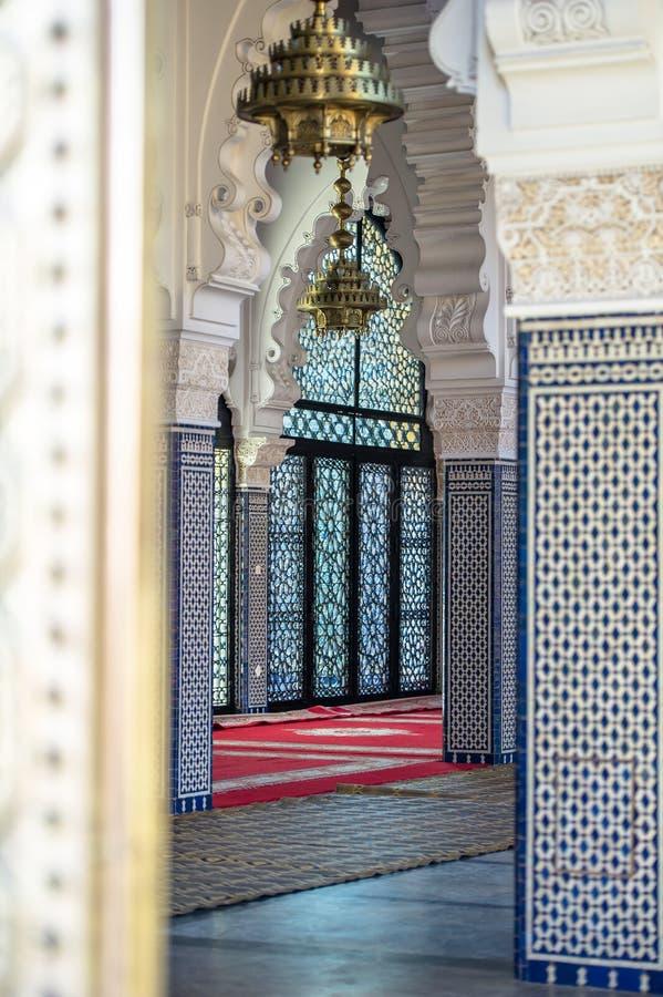 Dentro do palácio imagem de stock