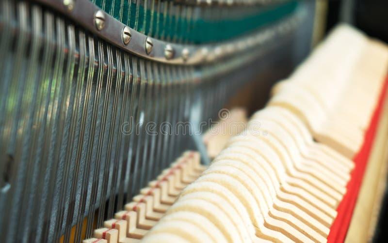 Dentro do piano imagem de stock royalty free