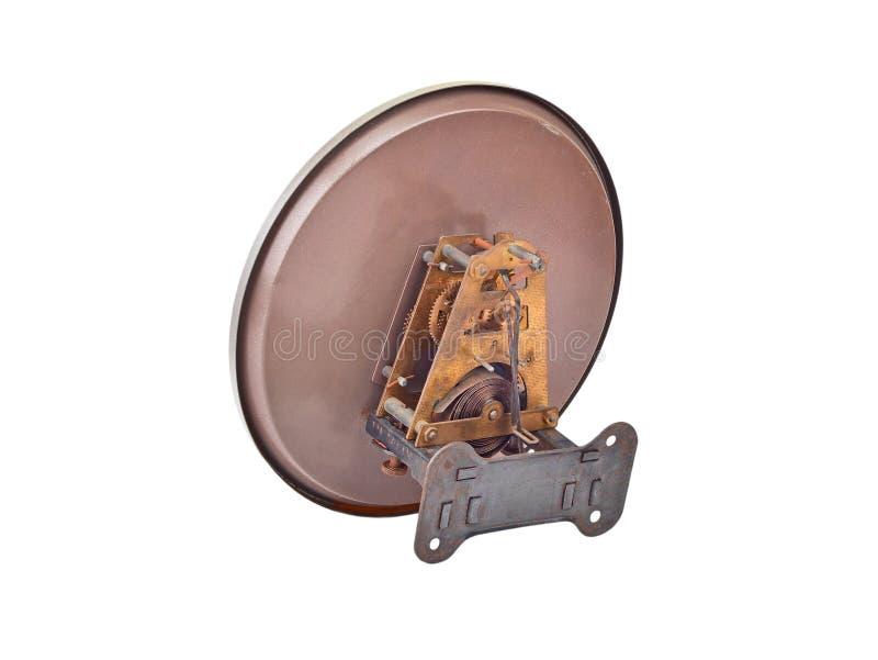 Dentro do pulso de disparo (maquinismo de relojoaria) imagem de stock