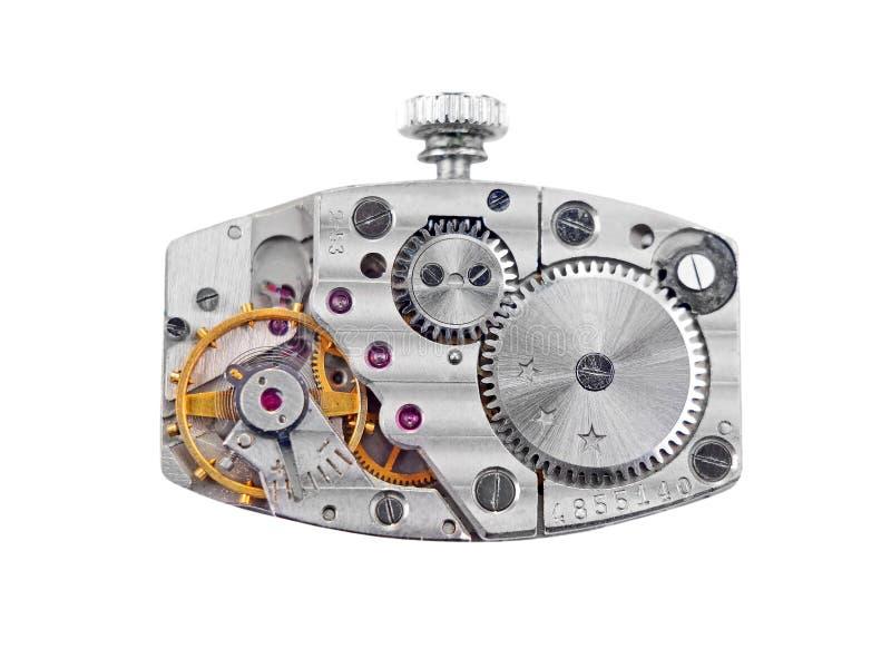 Dentro do pulso de disparo (maquinismo de relojoaria) imagens de stock royalty free