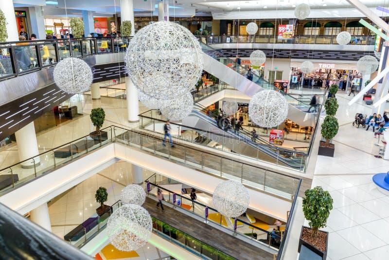 Dentro do shopping fotografia de stock royalty free