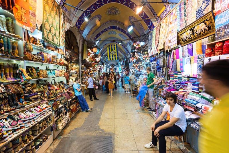 Dentro do vazar grande em Istambul, Turquia imagem de stock royalty free