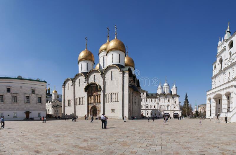 Dentro il Cremlino di Mosca, Mosca, città federale russa, Federazione Russa, Russia immagine stock libera da diritti