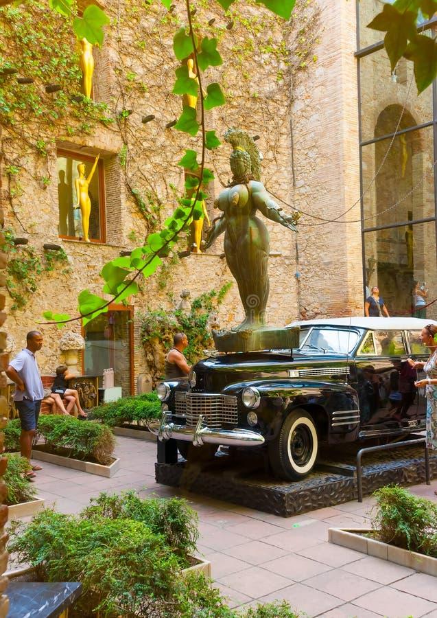 Dentro il museo di Dali immagini stock libere da diritti