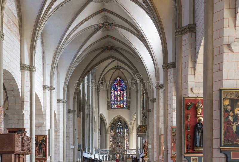 Dentro la cattedrale di Augusta fotografia stock libera da diritti