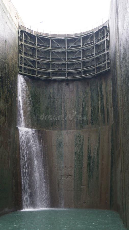 Dentro un fissare il fiume di RhÃ'ne fotografia stock