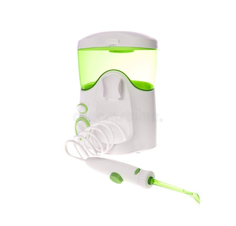 Dents de brossage, gommes de massage Irrigator pour oral photos libres de droits