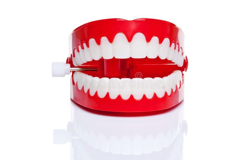 Dents de vibration image stock