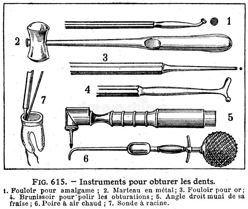 dents-instruments-1 royalty free stock photo