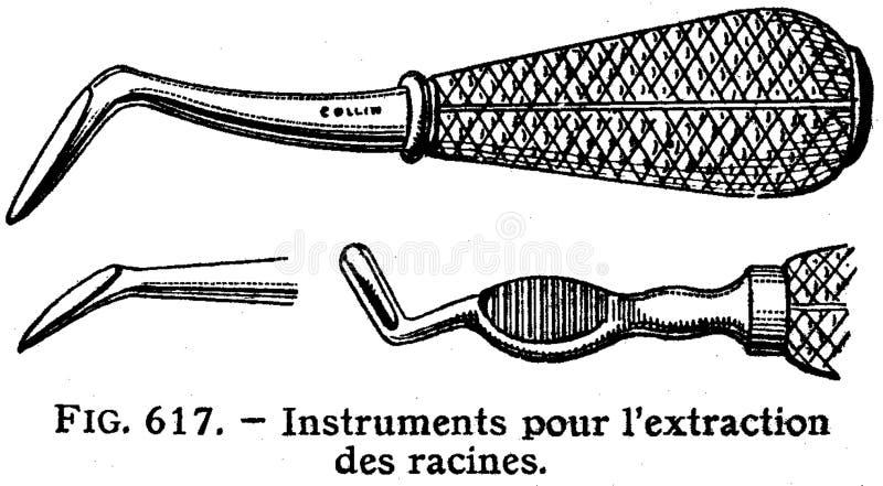 dents-instruments-3 stock photo