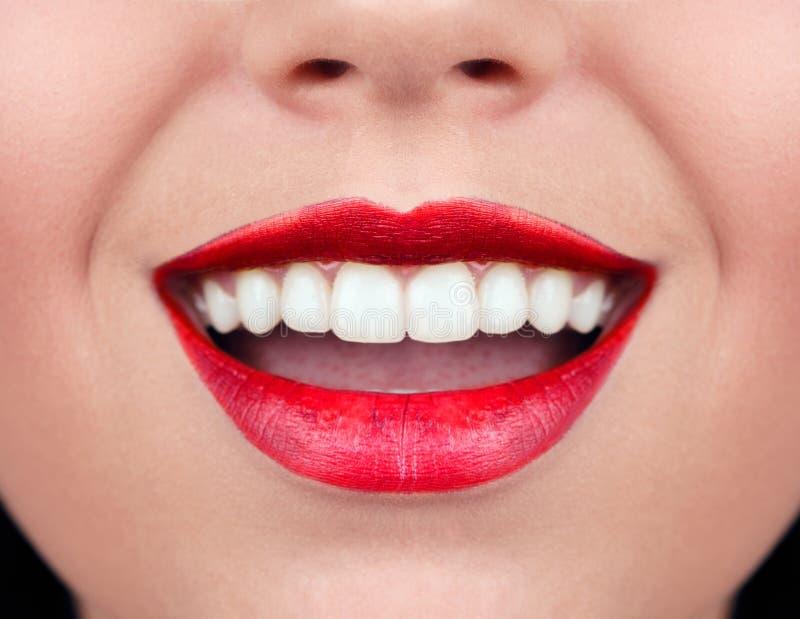 Dents saines de femme photographie stock libre de droits