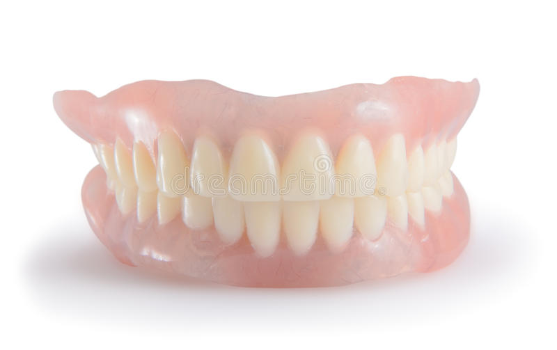 Dentures royalty free stock photos