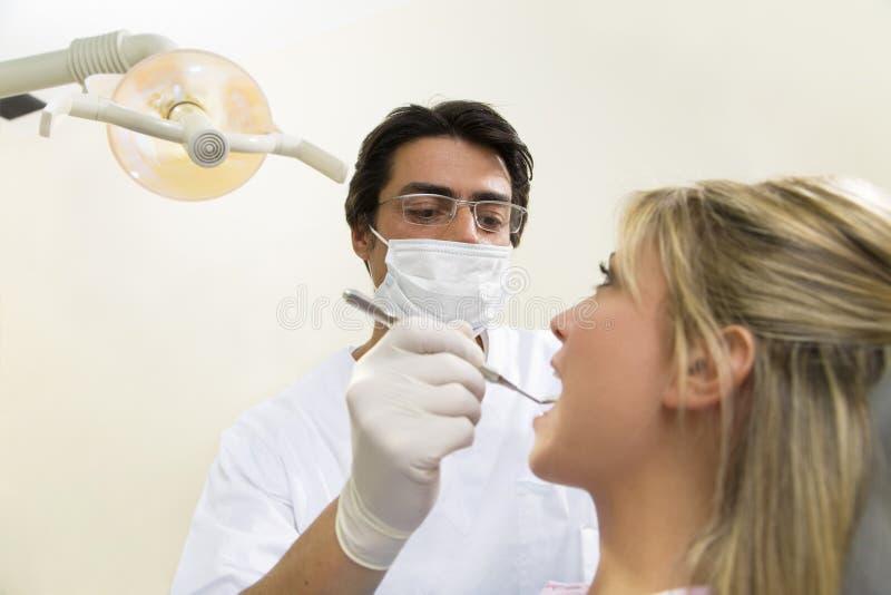 dentysta fotografia stock