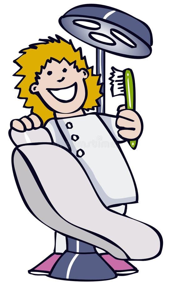 dentysta ilustracja wektor