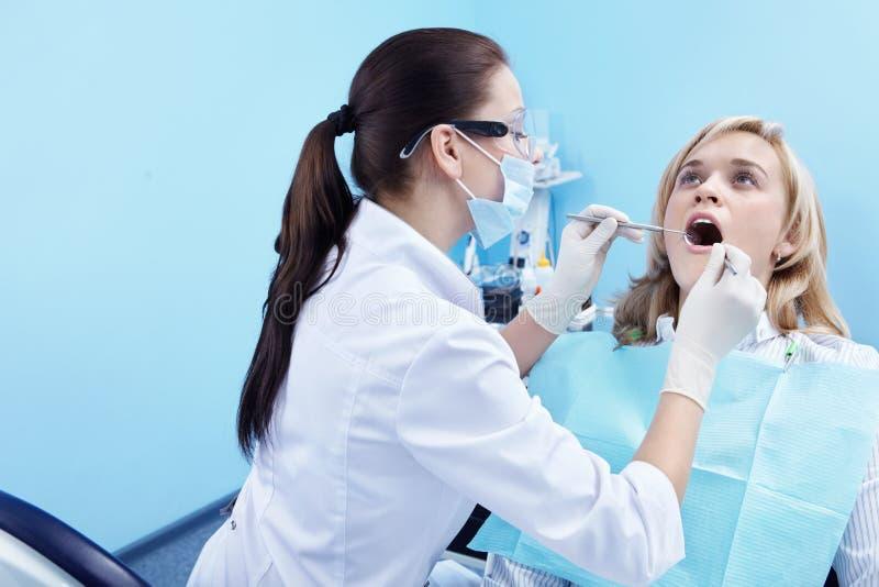 dentysta praca obraz royalty free