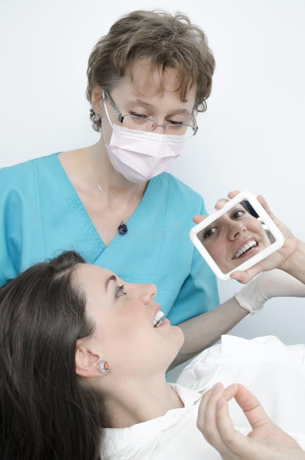 Dentysta wizyta zdjęcia royalty free