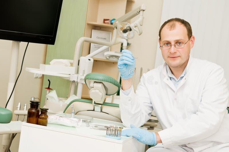 dentysty lekarki mężczyzna zdjęcia stock