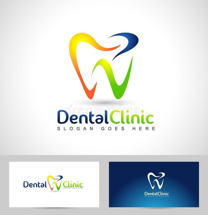 Dentysty logo ilustracji