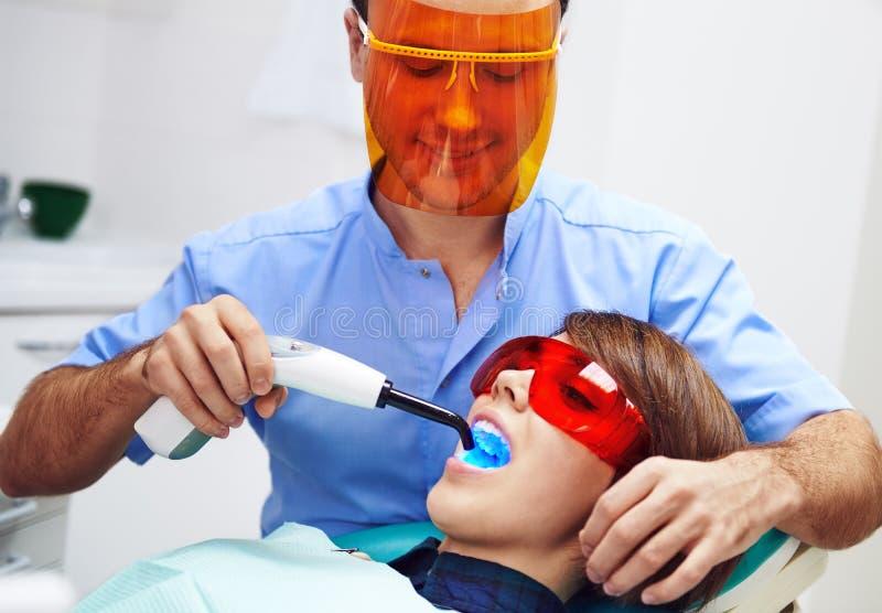 dentysty pacjent fotografia royalty free