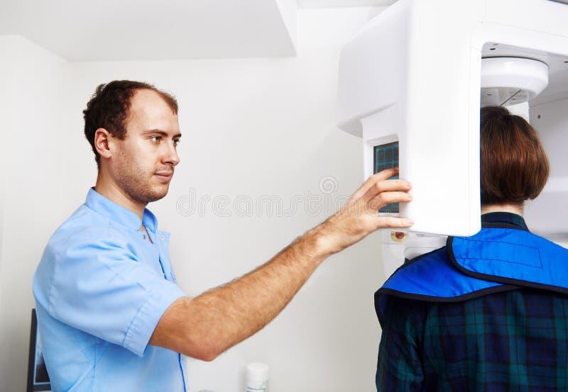 dentysty pacjent obrazy stock
